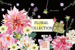 Floral collection.