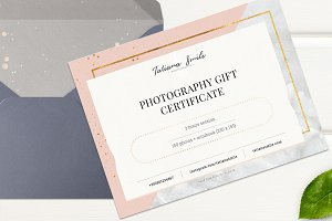 Photography Gift Сertificate