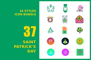 Saint Patrick's Day Icon Bundle