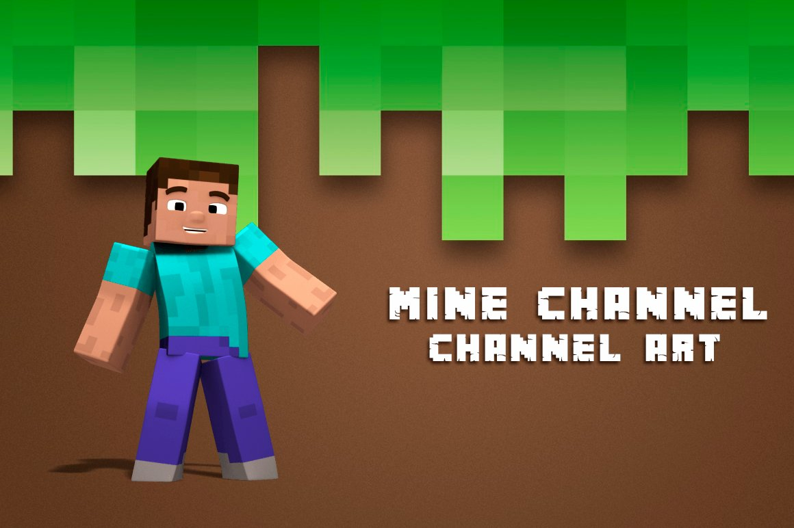 Youtube Mine Channel Art