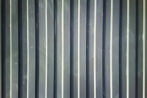 Vertical metallic lines texture