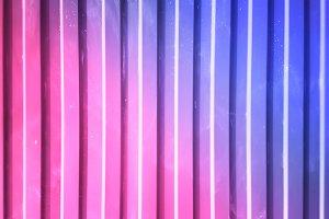 Vertical metallic pink and purple