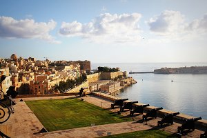 View Grand Harbor of Valletta, Malta