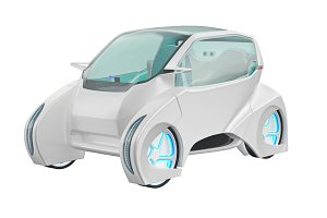 Car future futuristic