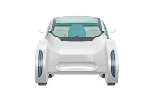 Car future, front view