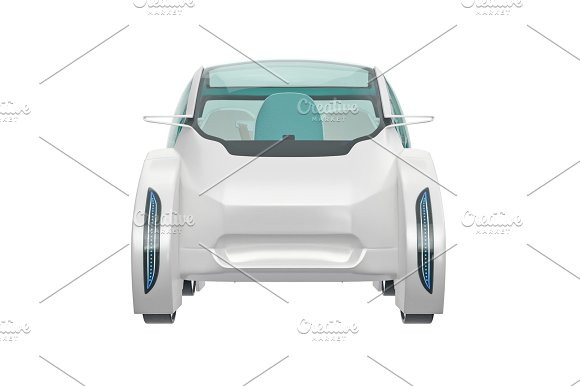 Car Future Front View