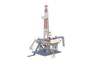 Land rig platform