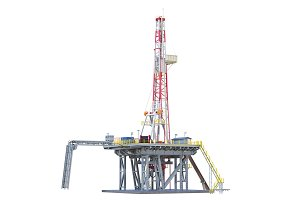 Land rig oil drilling