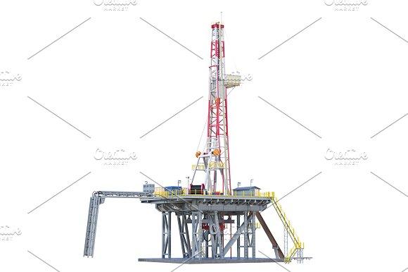 Land Rig Oil Drilling