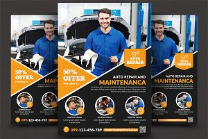 Car Repair Services Flyer