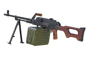 Machinegun automatic army