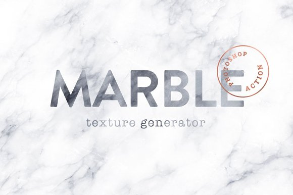 Marble Texture Photoshop Actions