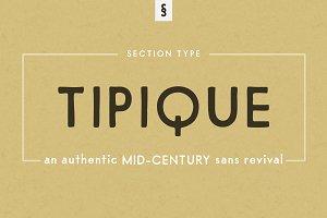 Tipique | Mid-Century Font Revival