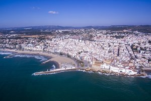 Sitges. Aerial view