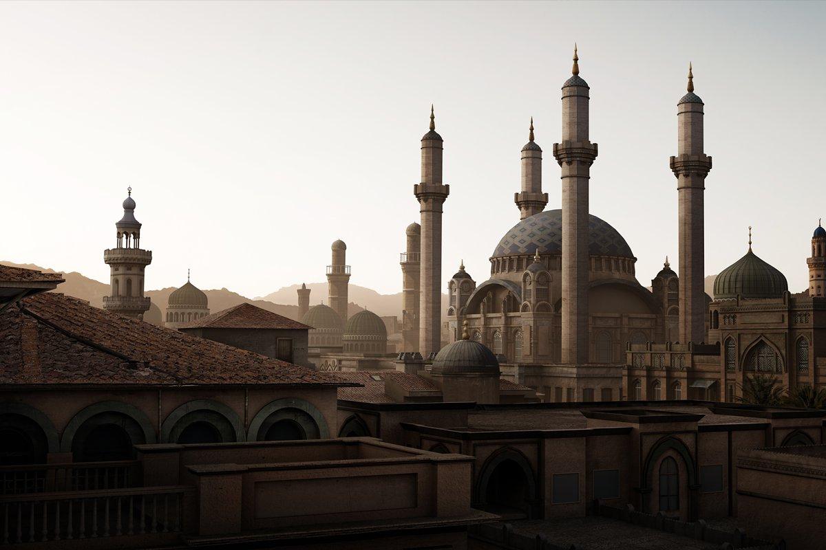 Arabic Sample Kit by KitBash3d ~ Architecture Models