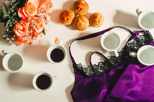 soft underwear. cupcakes and coffee.