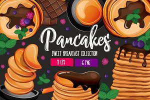 Pancakes! Sweet Breakfast Collection