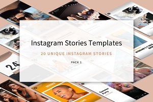 Instagram Stories Templates - Pack 1