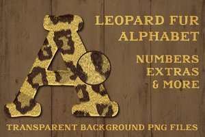 Leopard Fur Alphabet Sailors Diary