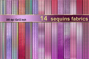 Sequins fabric texture pink purple