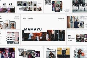 MAMAYU - Powerpoint Template