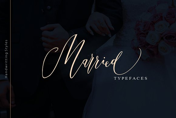 Married Typefaces