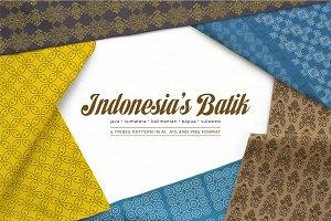 Indonesia's Batik Pattern