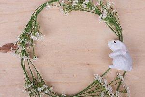 Easter frame for social media