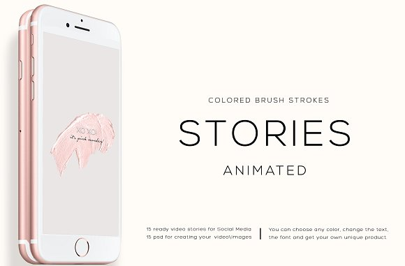 ANIMATED INSTAGRAM STORIES