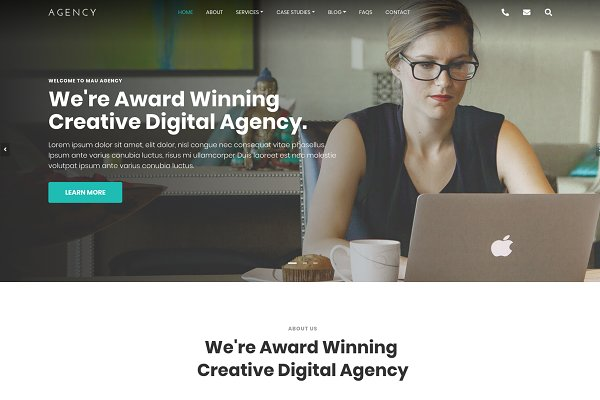 Agency – Html Template for Agency