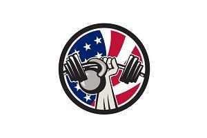 American Hand Barbell Kettlebell USA