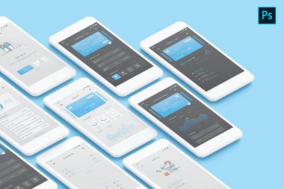 Mobile Wallet UI Kit