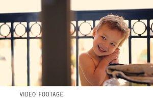 Cute happy boy