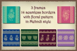 Borders and Frames set