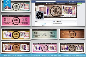 SALE Facebook Timeline Covers