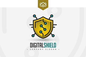 Digital Shield Logo