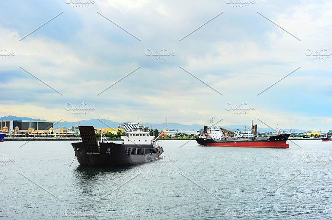 Harbor. Cebu, Philippines - Transportation
