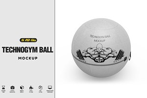 Technogym Ball MockUp
