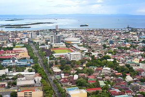 Cebu city panorama