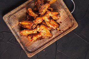 Fried chicken wings
