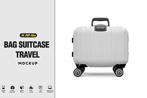 Bag Suitcase Travel Vol.3 MockUp