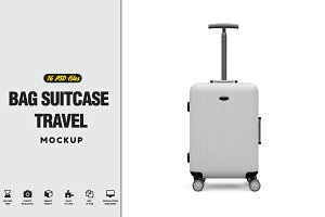 Bag Suitcase Travel Vol.1 Mockup