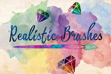 Realistic Brushes + Free Action