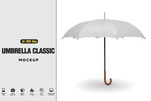 Umbrella Classic Open MockUp