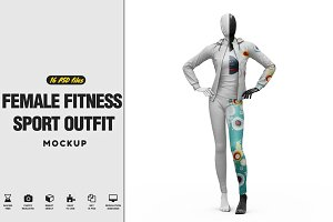 Female Fitness Sport Outfit Vol.3 Mo