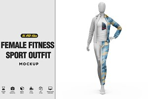 Female Fitness Sport Outfit VOL.2 Mo