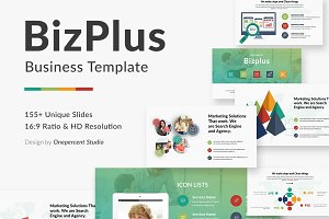 BizPlus Multipurpose Google Slide