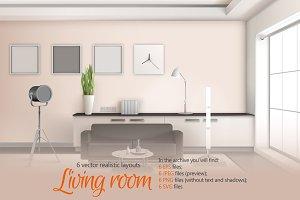 Living Room Realistic