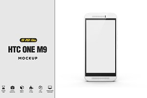 HTC One M9 Mock-up