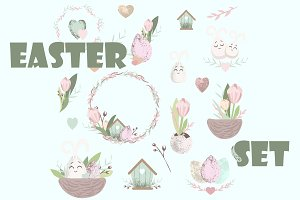 Easter cute set